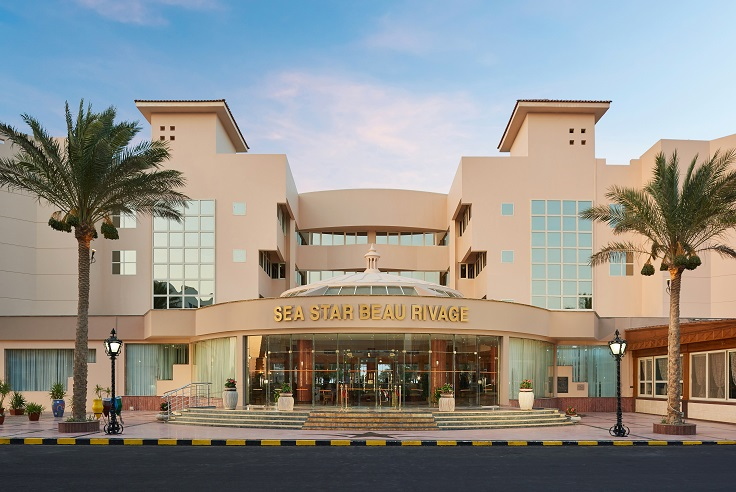 Sea Star Beau Rivage Hotel-Hurghada- Hotel Face