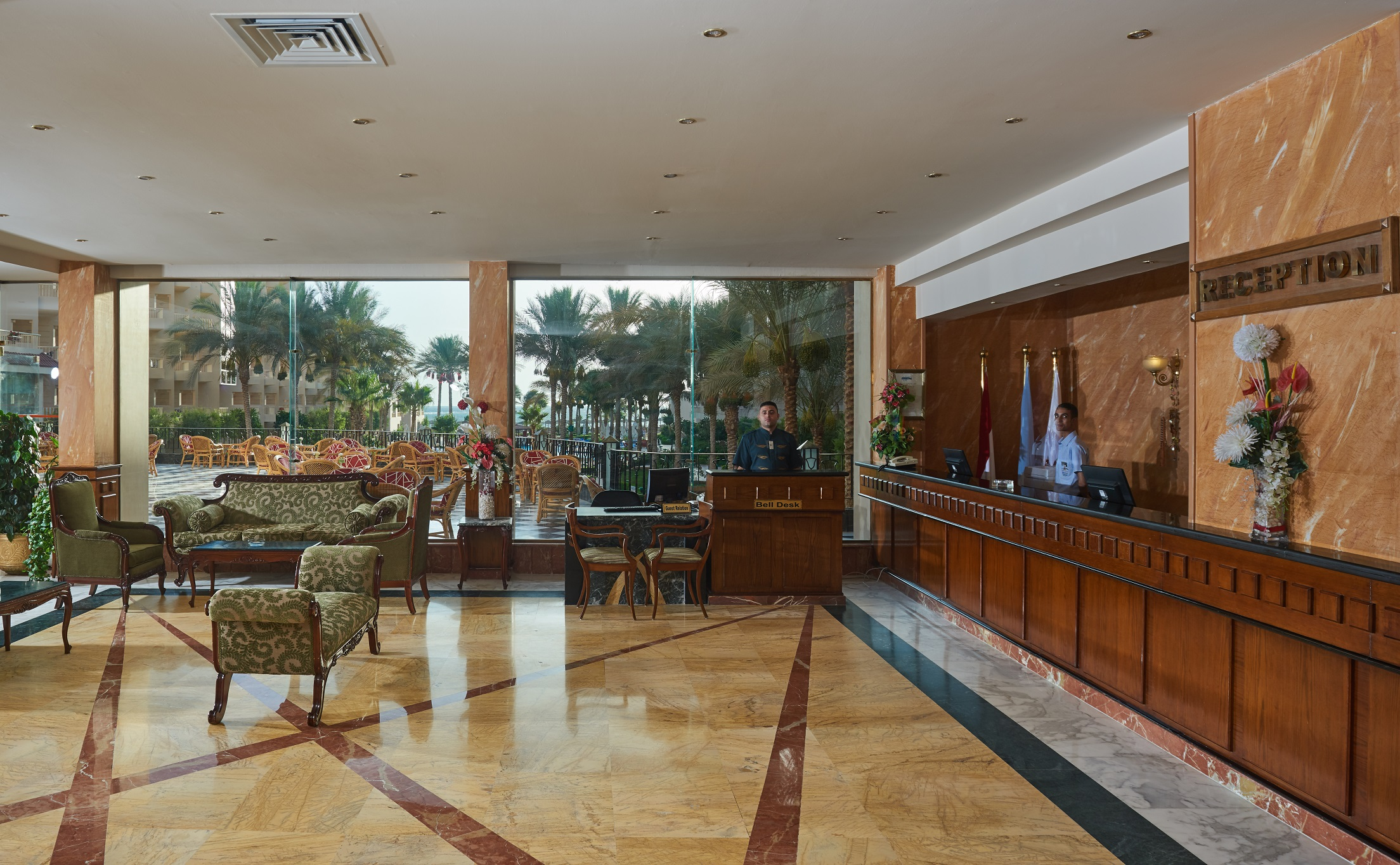 Sea Star Beau Rivage Hotel-Hurghada-lobby-recepation