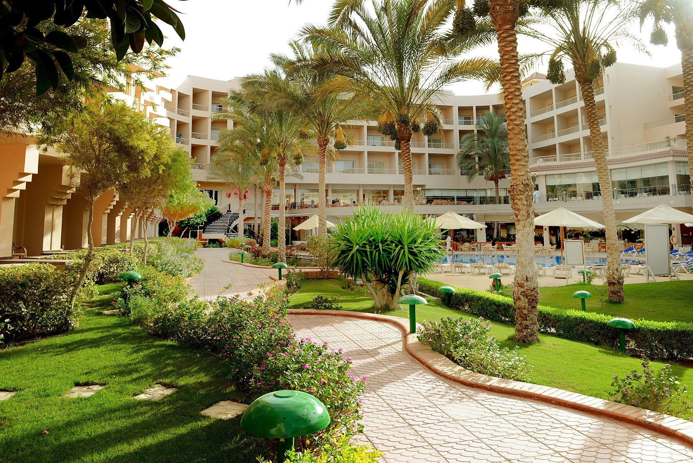 Sea Star Beau Rivage Hotel-Hurghada- Garden View