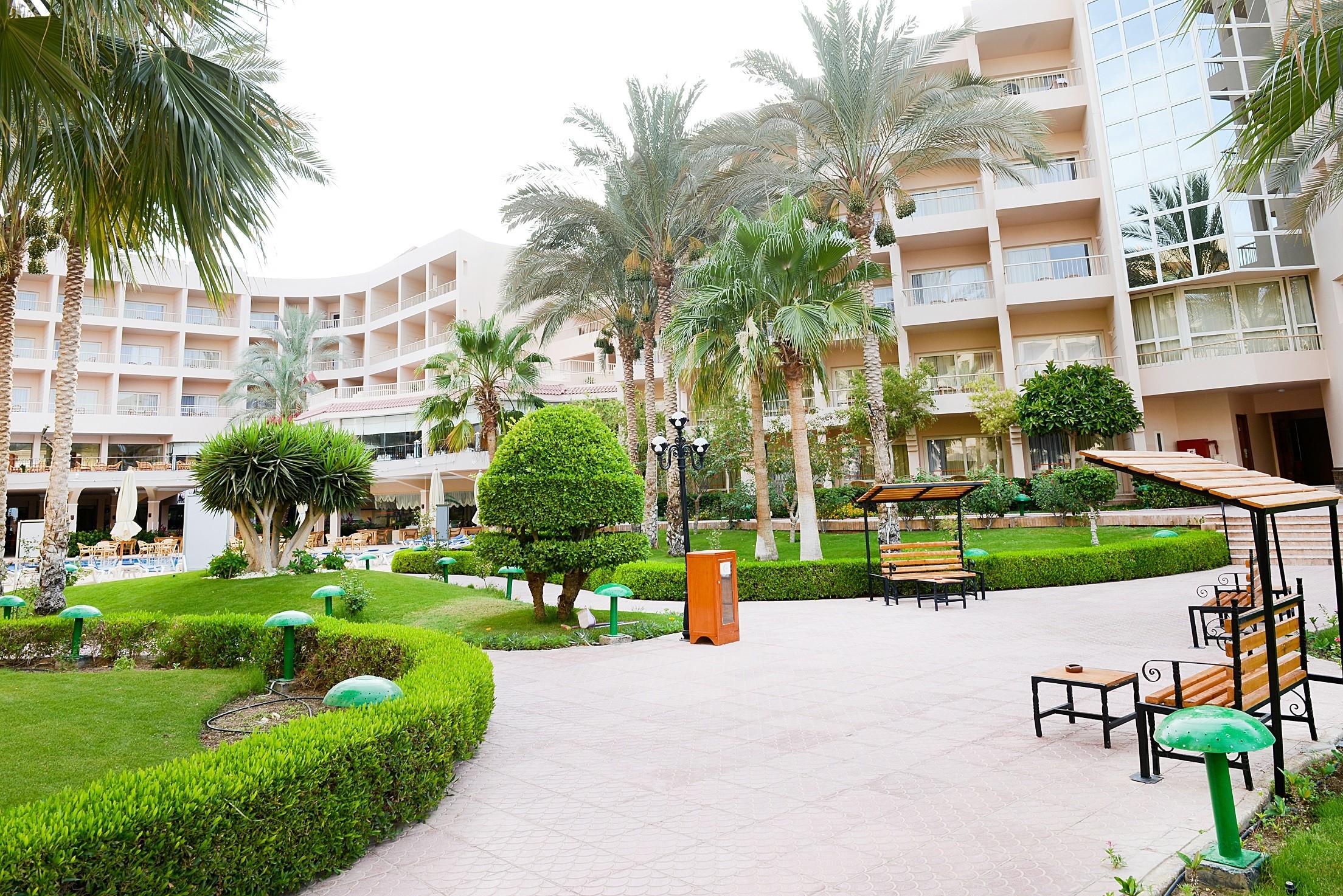 Sea Star Beau Rivage Hotel-Hurghada- Garden View2