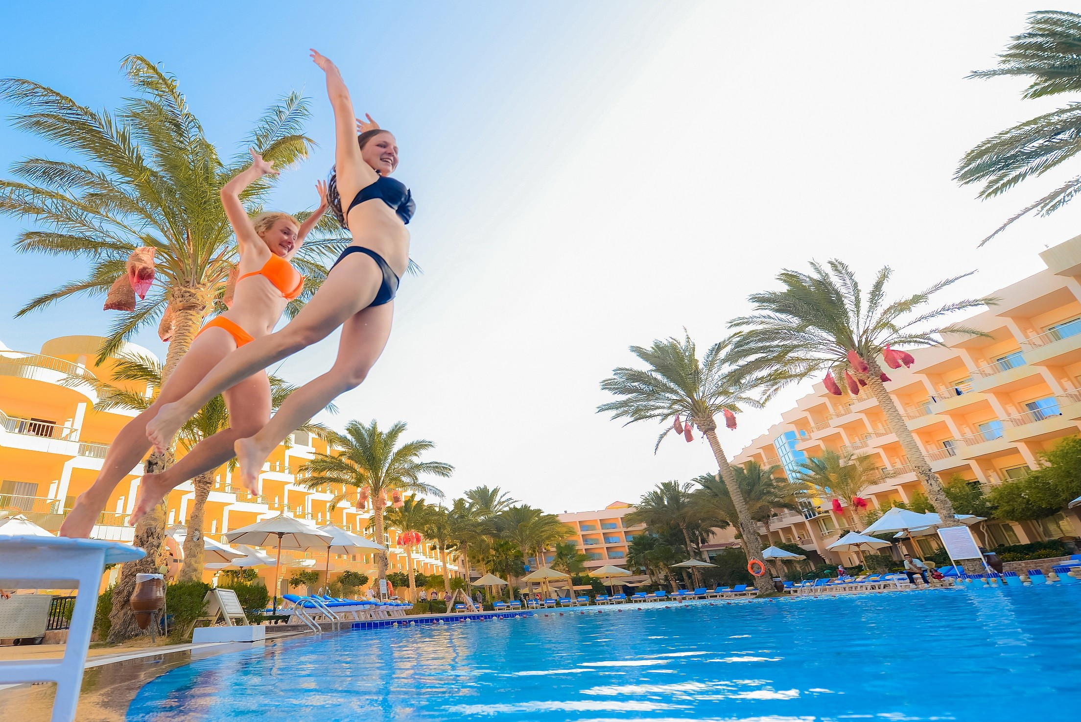 Sea Star Beau Rivage Hotel-Hurghada- Pool View