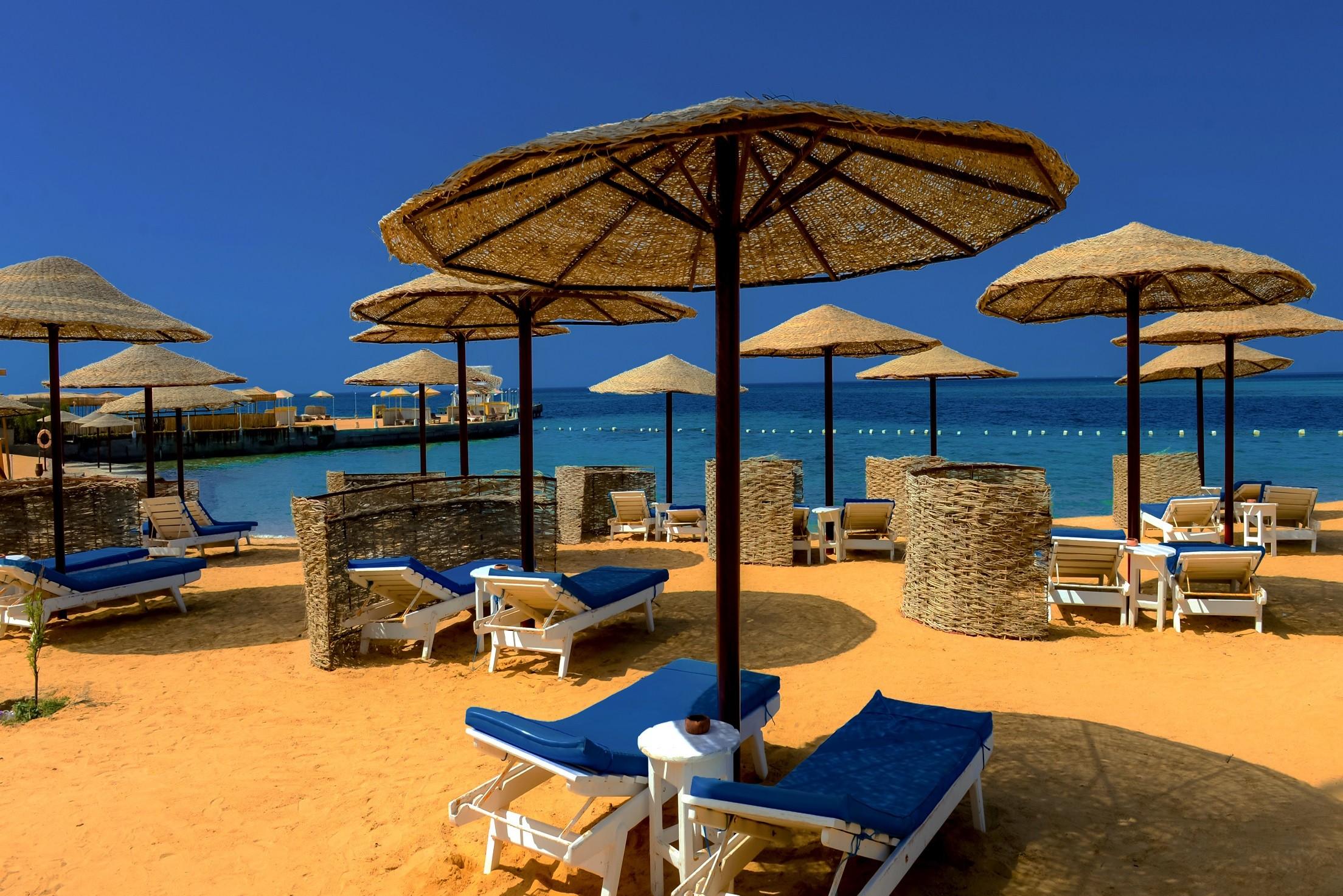 Sea Star Beau Rivage Hotel-Hurghada- sandy-beach